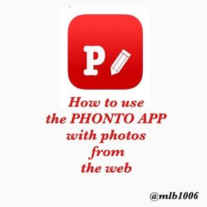 Other - How to use the PHONTO APP with images from the web